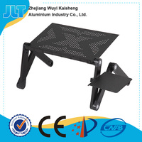 Multiple angle and height lap desk for laptop tablet pc