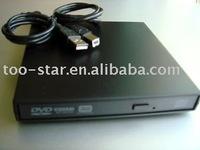 External USB CD DVD RW DL Burner Writer Drive (New)