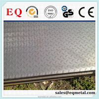 SS400 Q235 Top quality checker plate specification