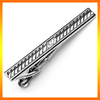 High Quality 1.5inches Custom Metal Silver Tie Clip