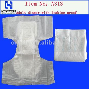 medical adult nappies/China adult diapers with high absorbent
