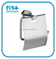 Stainless Steel Bathroom Accessory Wall Mount Toilet Paper Tissue Napkin Roll Holder Dispenser 58001