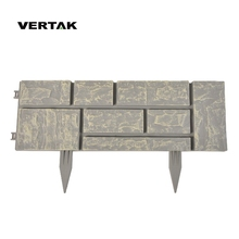 VERTAK Big customers cooperation promotion plastic landscape edging