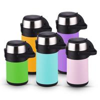2.2L 2.5L 3L Level Thermos Airpot Flask 3.5L 4L Stainless Steel Air Termo Pot Beverage Function Coffee Dispenser Vacuum Airpot
