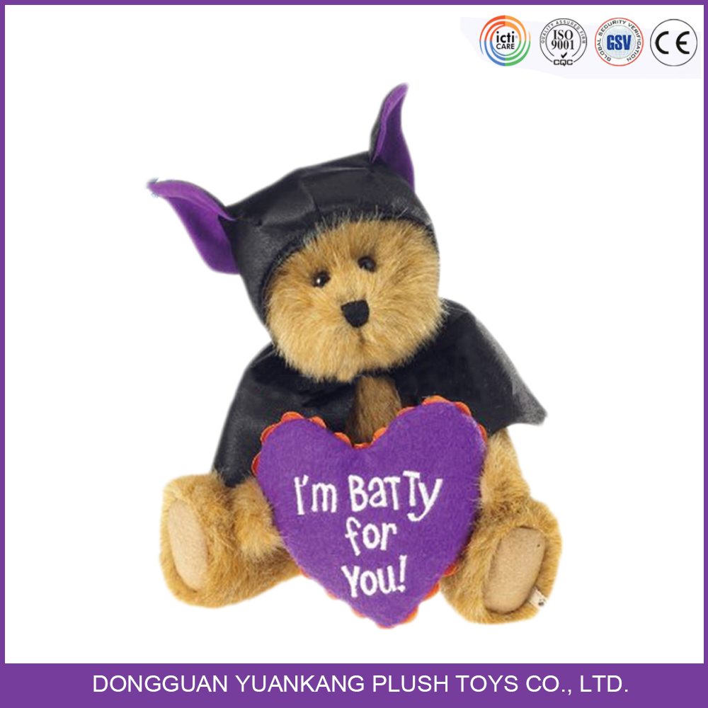 China manufacturer halloween costum toys customized teddy bear wholesale