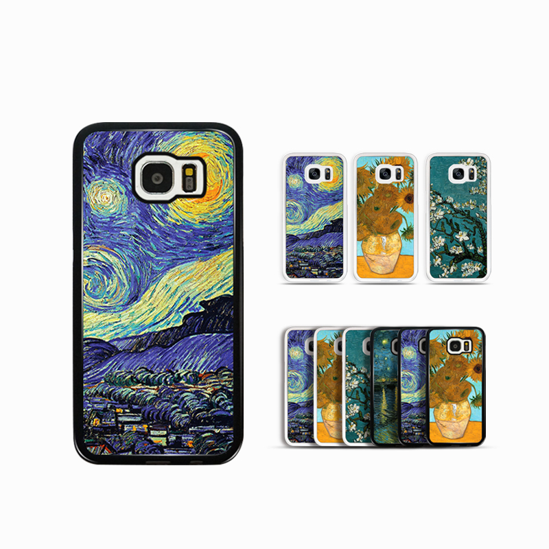 2d sublimation case for Samsung galaxy s6 edge pc hard phone case