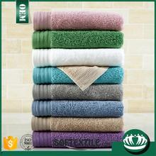 Super cheap 100% cotton customized embroidery border face towels