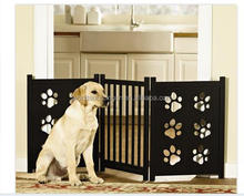 Hot Sale ,Adjustable Wooden Paw Gate,Movable