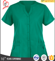 Hot sell good quality factory direct medical uniform scrub suit scrub top