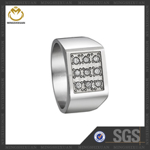 Professional CNC Setting Good Quality Men's Konov Jewelry Ring