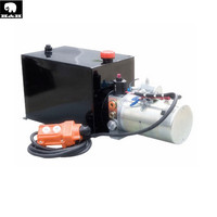 DC12V/24V hydraulic power pack used for trailer/DC hydraulic power unit