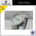 China Manufacture New Stainless Steel Strap Quartz Watch For Mens
