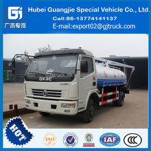 DongFeng 4M3 Vacuum Suction Truck 4CBM Sewer Cleaning Vehicle 4000L Sludge Suction Truck