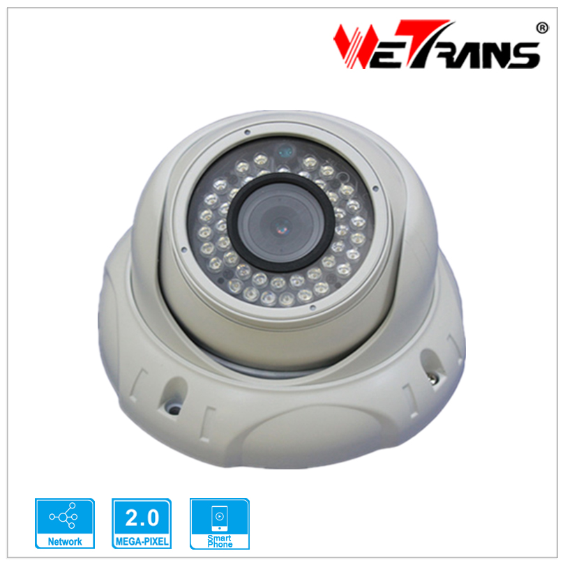 4.0MP TR-IP40CD125 H.264 H.265 IR Dom P2P support Onvif 2.4 IP Camera Specification