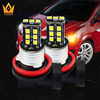 lightpoint hotest 12v 8w newest car led replacement light bright chip 2835 headlight auto led fog lamp H11 canbus led fog light