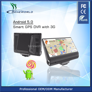 3G Wifi Android Car GPS Navigator 1GB 8GB Camera Video Recorder DVR Dash Cam