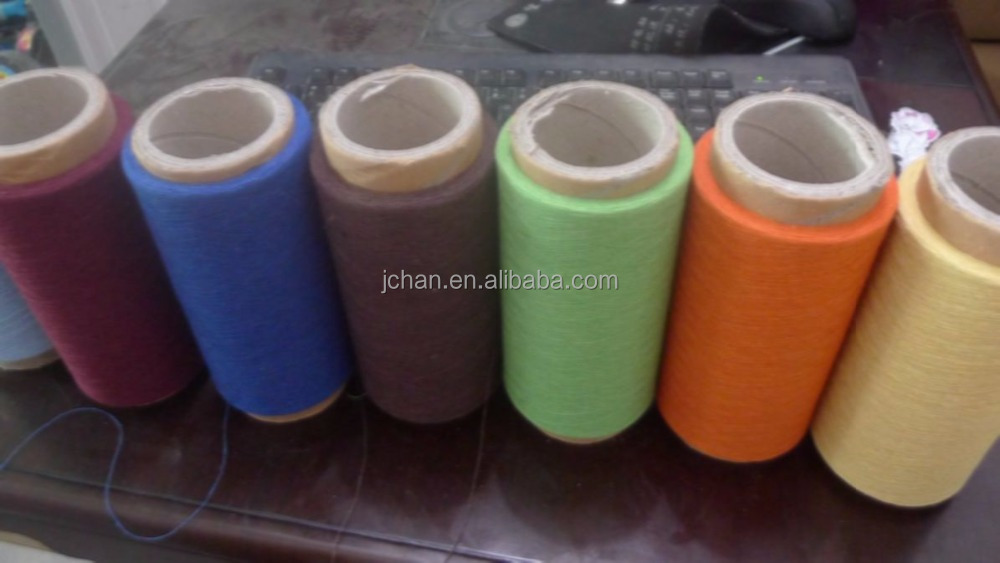 cotton yarn 20/1 colorful recycled cotton dyed kintting yarn china manufacturer importer