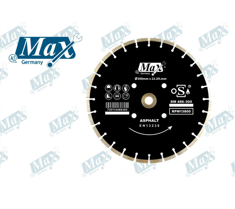 Diamond Blade For Asphalt - Diameter 500 mm