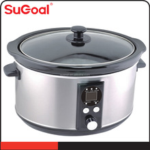 3.5L Timer Ceremic Multi-function Slow Cooker On promotion HPCD-350