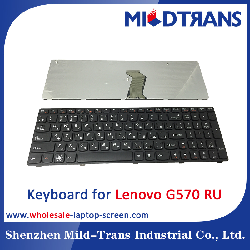Hot selling Laptop Keyboard for Lenovo G570 RU