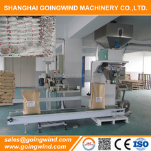 25kg bagging machine 50kg filling sealing machines semi-automatic bag packaging machinery cheap price for sale