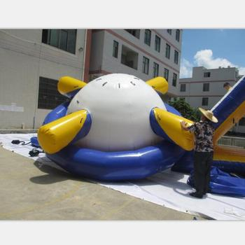 Inflatable saturn water park toy