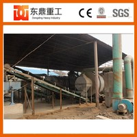 High moisture content 12 ton per hour sand drying machine/sawdust rotary dryer with best price