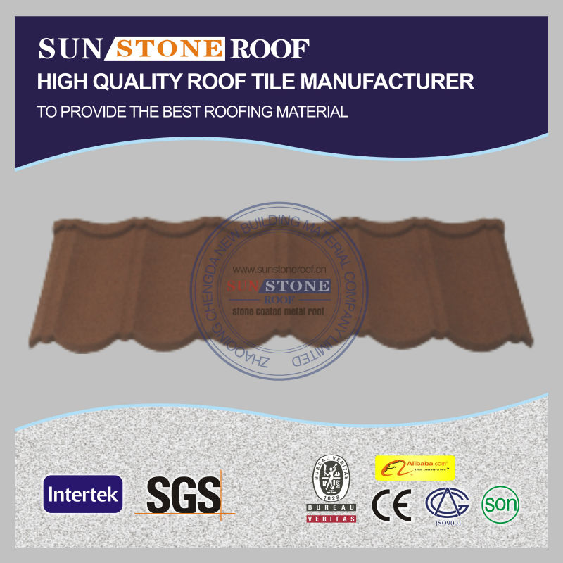copper authoritative natural stones colored metal roof