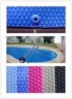 UV protected&heat retention air bubble swimming pool cover