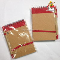 Spiral Bound Notebook with Paper Board Cover