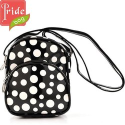 2014 High End PU Dot Printing Body Cross Bag