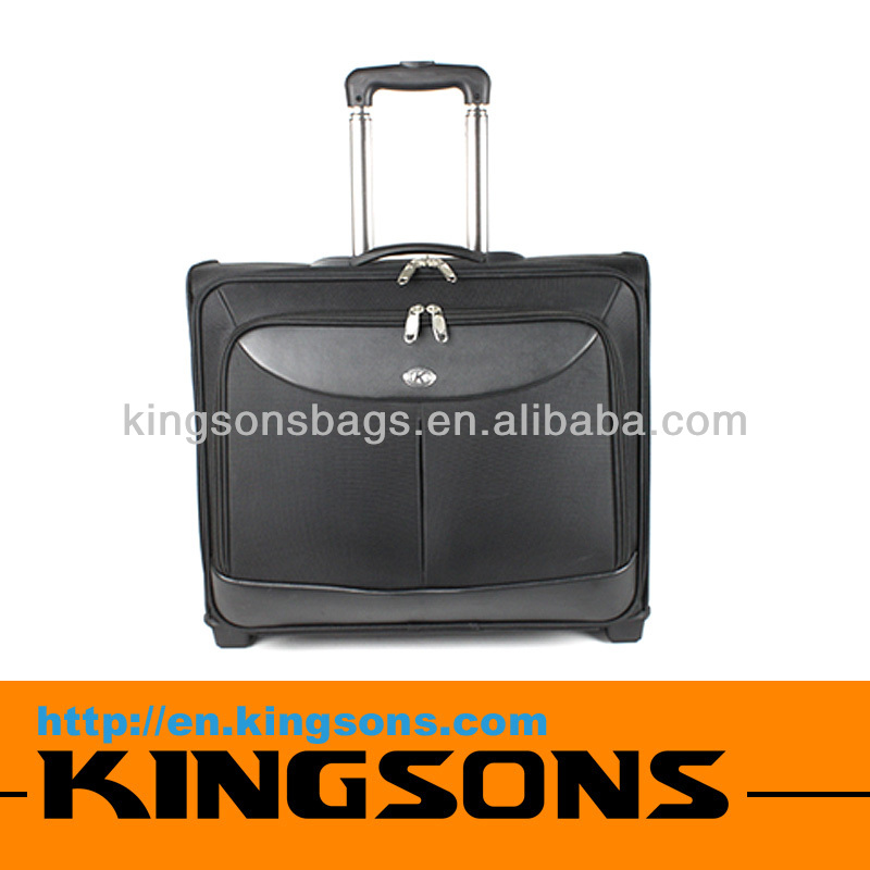Leather Laptop Bag Duffel Bag With Trolley High Quality