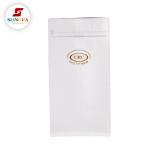OEM safe plastic stand up coffee bag packaging with custom printed