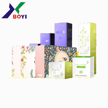 2018 Factoy Price Perfect Printing cosmetic gift set packaging box made in Hunan