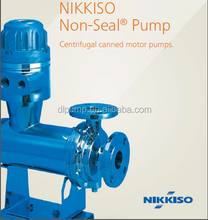 Chemical Process NIKKISO Non-Seal Pump canned motor heating 70 kw electric motor pump