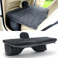 OEM Wholesale Thick PVC Back Seat Cushion Air Mattress Inflatable Bed car seat cover