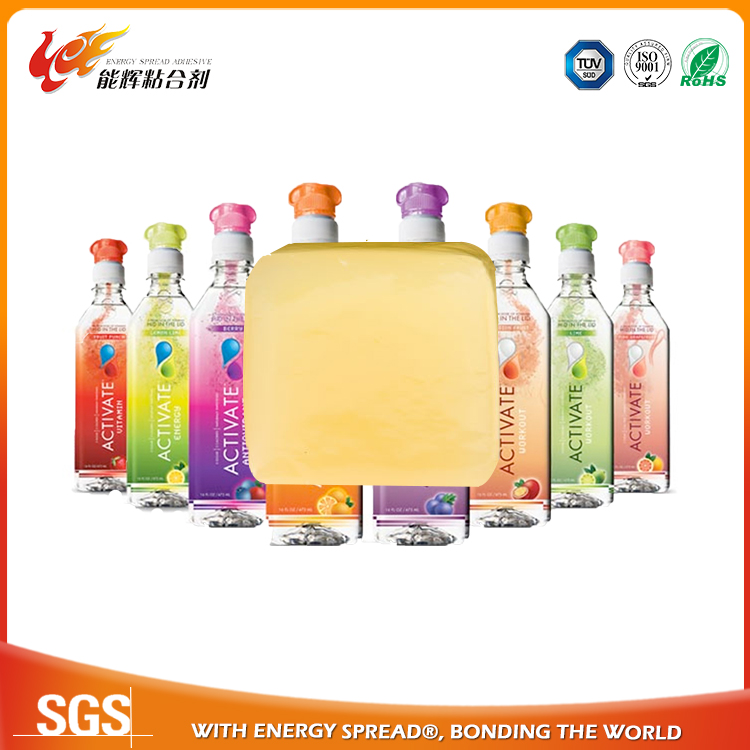 Economical hot melt glue thermo adhesive for bottle labeling from China