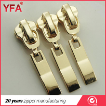 Zinc alloy slider for metal zipper in High quality
