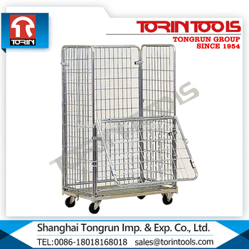 Custom Made Cheap Welded Collapsible Large Wire Mesh Container