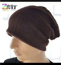 wholesale women / men cotton beanies qianzun slouch beanie winter hat knit hats