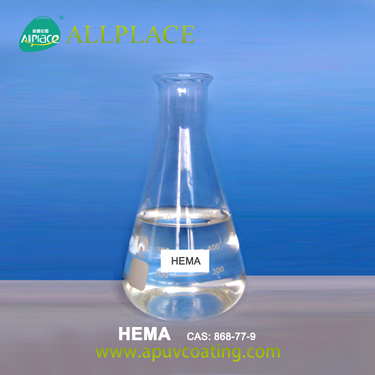 99% Purity 868-77-9 HEMA/Hydroxyethyl Methyacrylate for Nail Gel