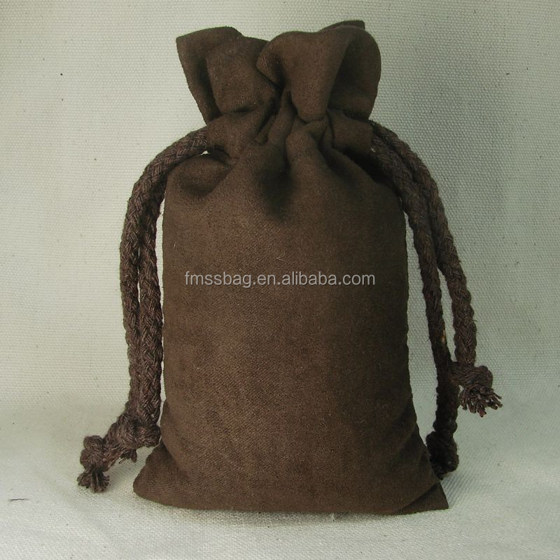 Top Grade Suede Drawstring Gift Bag And Organza Jewelry Pouches Wholesale