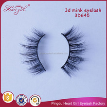 100% human hair material eyelash high quality private label lashes