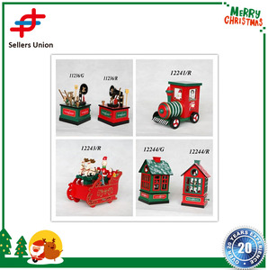 Handcraft sets wooden toys for Christmas ornament Decoration