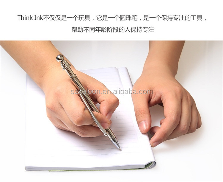 Promotional Decompression Magnetic Fidget Pen 2017 Hot New Product