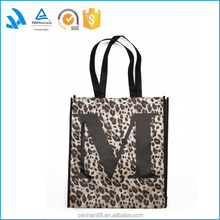 2015 China logo printed recycled shopping cart bag wholesale hot sale