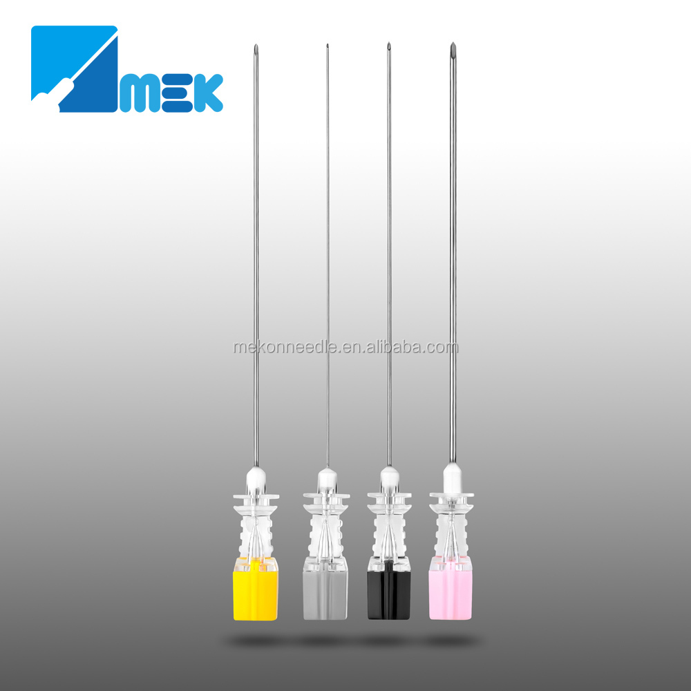 Lumbar Puncture Needle sizes of spinal needles