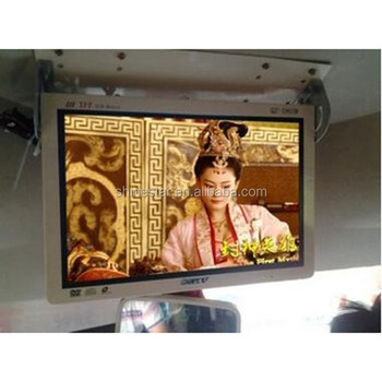"17"" Inch vehicle metro bus LCD 4G android monitor advertising signage"
