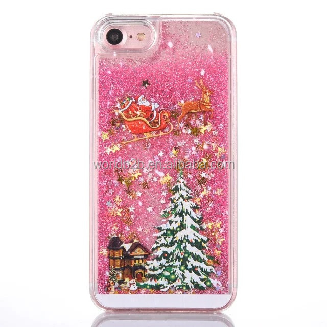 2016 Christmas gift Hard PC beautiful free sample phone case for Christmas