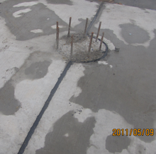 Airport concrete road joint repair polyurethane adhesive/sealant one part UV resistance